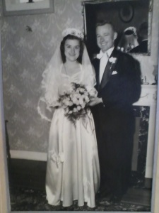 My parents' wedding day - November 21, 1948.